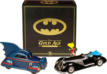 Set Car Batman Gold Age