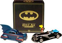 Set Car Batman Gold Age