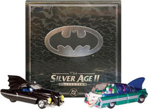 Set Car Batman Silver Age II