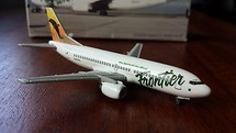 Frontier Airlines Dolphin Sunset and Water Motif B737-36Q