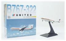 United Airlines Boeing 767-300 N652UA Diecast Model