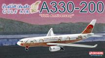 """A330-200 Gulf Air Special Gulf Air """"50 Years Livery"""", A40-KF"""