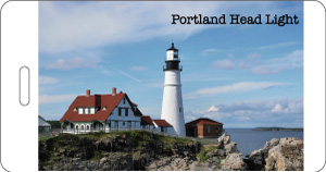 Luggage Tag Portland Lighthouse