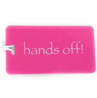 hands off!- Luggage Tag