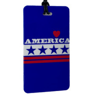 America - Luggage Tag