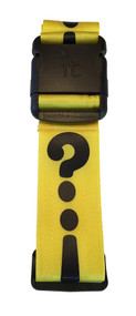 Luggage Strap Punctuation - Yellow