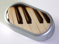 Small Contact Lens Case - Piano Keys