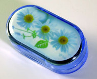 Small Contact Lens Case - Daisy