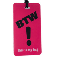 BTW Luggage Tag