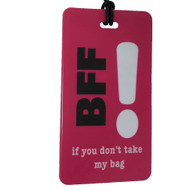 BFF Luggage Tag