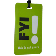 FYI Luggage Tag