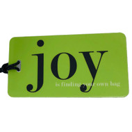 Joy Luggage Tag