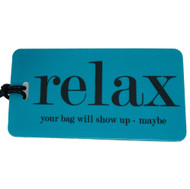Relax Luggage Tag