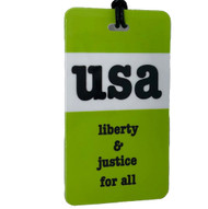 USA Liberty & Justice - Luggage Tag