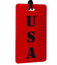 USA -stencil - Luggage Tag