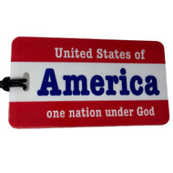United States of America Luggage Tag
