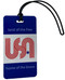 luggage tag - USA land of the free