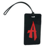 Initial Luggage Tag - Letter A - Calligraphy
