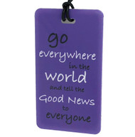 Go Everywhere in the World - Bag Tag
