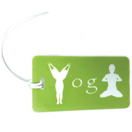 YOGA - Bag Tag - Lime