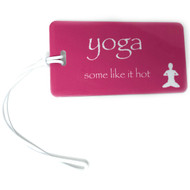 Yoga  Some Like It Hot - Bag Tag - Fuchsia