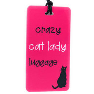 Crazy Cat Lady - Luggage Tag