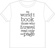 The World is a book - T-Shirt