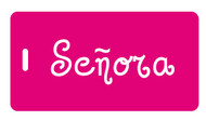 Senora Luggage Tag