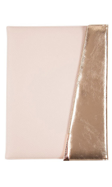 """Case-Mate Edition Folio Case 10"""" Universal Tablets - Rose Gold"""