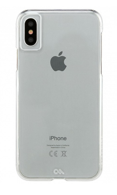 Case-Mate Barely There Case iPhone X - Clear