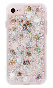 Case-Mate Karat Case iPhone 8 - Mother of Pearl