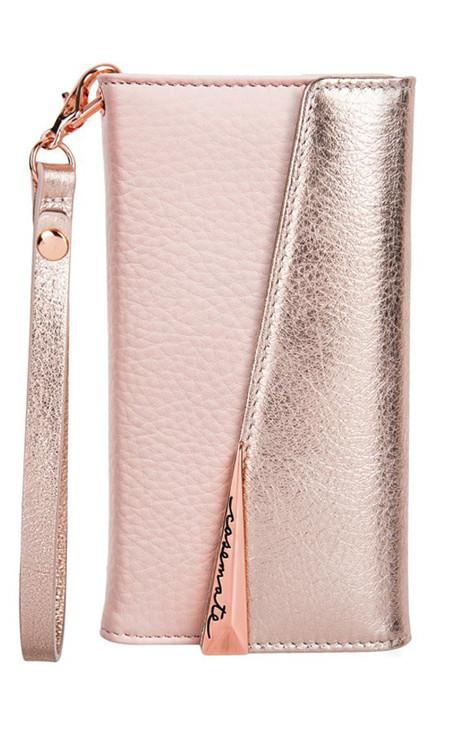 Case-Mate Wristlet Folio Case iPhone 8+/7+/6+/6S+ Plus - Rose Gold