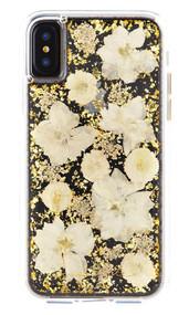 Case-Mate Karat Petals Case iPhone X - White
