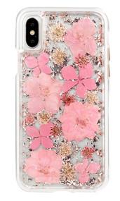 Case-Mate Karat Petals Case iPhone X - Pink