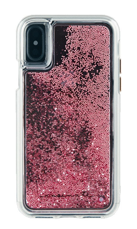 size 40 12c46 34a42 Case-Mate Waterfall Case iPhone X - Rose Gold