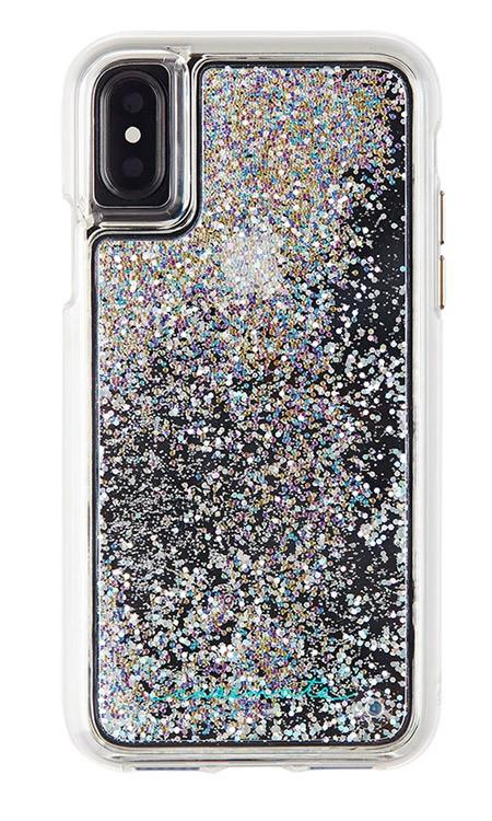 Case-Mate Waterfall Case iPhone X - Iridescent