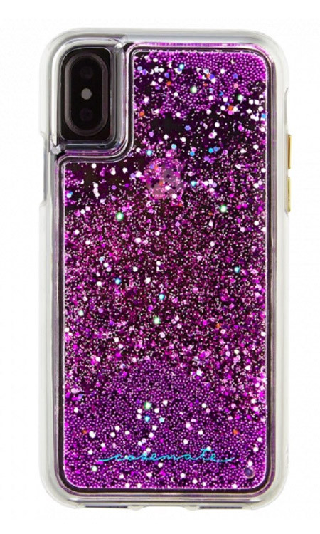 Case-Mate Waterfall Case iPhone X - Magenta
