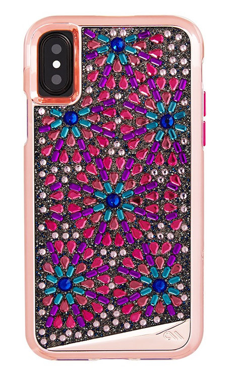 Case-Mate Brilliance Case iPhone X - Brooch