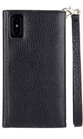 Case-Mate Wristlet Folio Case iPhone X - Black