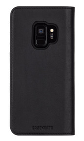 Case-Mate Wallet Folio Case Samsung Galaxy S9 - Black