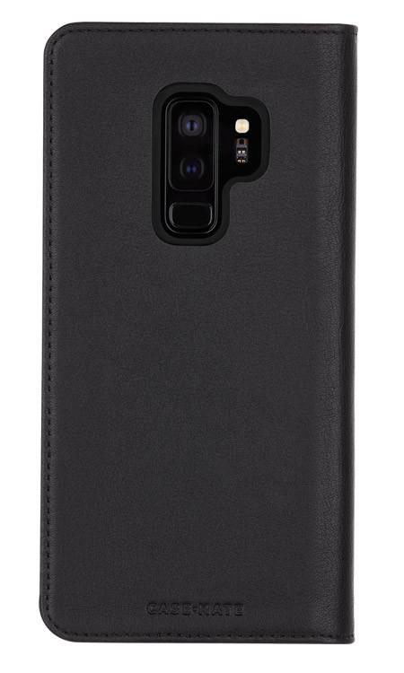 Case-Mate Wallet Folio Case Samsung Galaxy S9+ Plus - Black