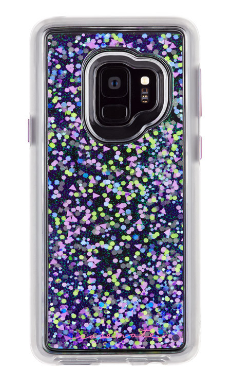 Case-Mate Waterfall Glow Case Samsung Galaxy S9 - Purple