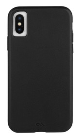 Case-Mate Barely There Leather Case iPhone X/Xs - Black