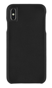 Case-Mate Barely There Leather Case iPhone Xs Max - Black
