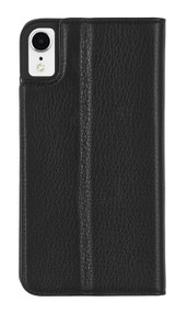 Case-Mate Wallet Folio Case iPhone XR - Black