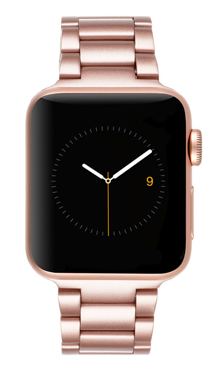 best service a3bb2 082cf Case-Mate Linked Band Apple Watch 38mm - Rose Gold