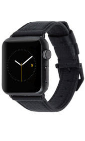 Case-Mate Signature Leather Band Apple Watch 38mm - Black