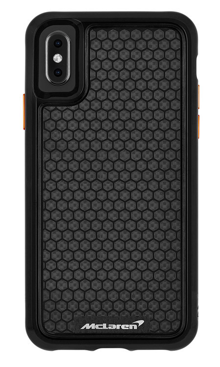 low priced 5bcb5 b9e6d Case-Mate McLaren Carbon Fiber Case iPhone Xs Max - Black