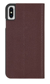 Case-Mate Barely There Folio Case iPhone X/Xs - Brown