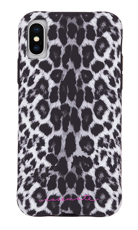 Case-Mate Wallpapers Case iPhone X/Xs - Grey Leopard
